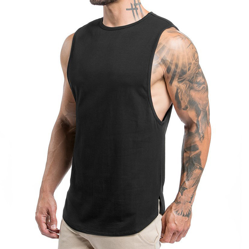 Men's Sleeveless Running Sports Casual Breathable Tops