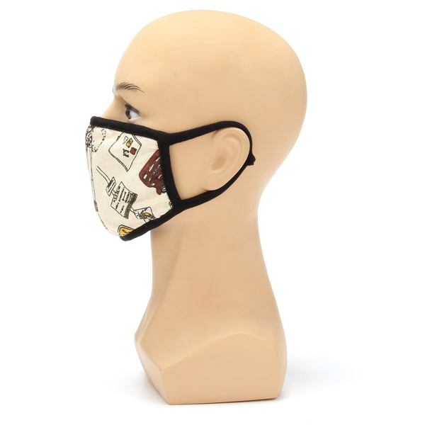 Motorcycle Dustproof Warm Mask printed Anti Cold Male And Female Masks