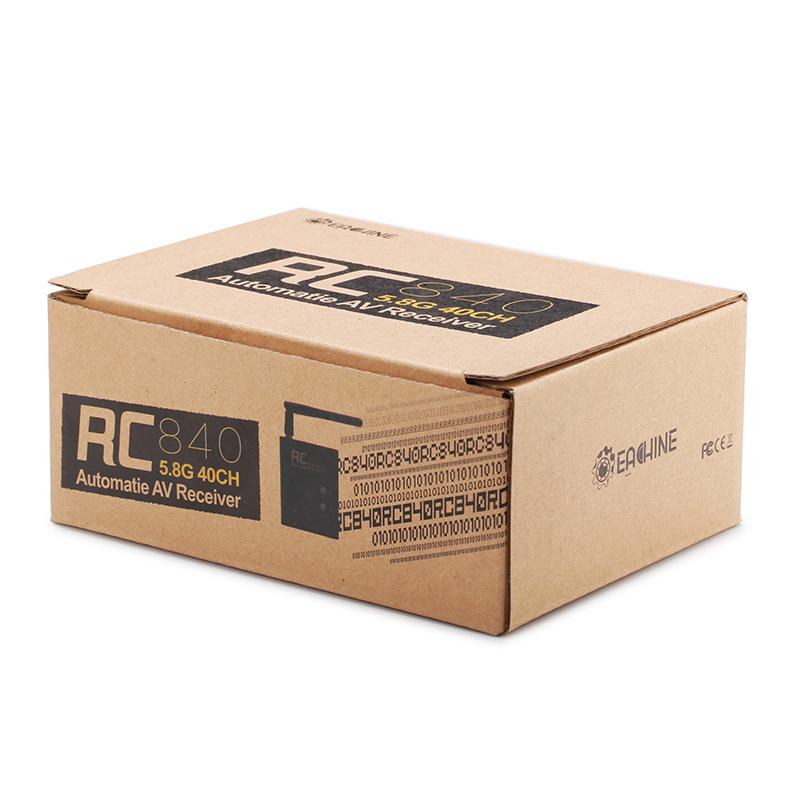 Eachine RC840 RC832 5.8G 40CH Raceband Wireless FPV Receiver Module - Photo: 9
