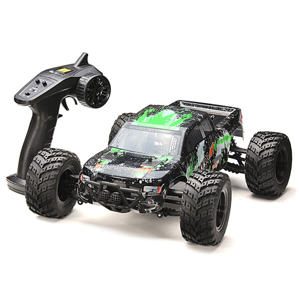 HBX 12813 1/12 2.4G 4WD 33km/h Brushed Rc Car Big Foot Off-road Vehicle Model RTR Toy