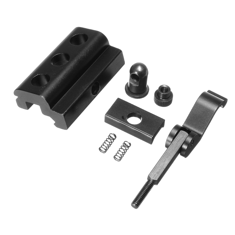 Quick Detachable Cam Lock Bipod Sling Adapter Mount for 20mm Picatinny Rail