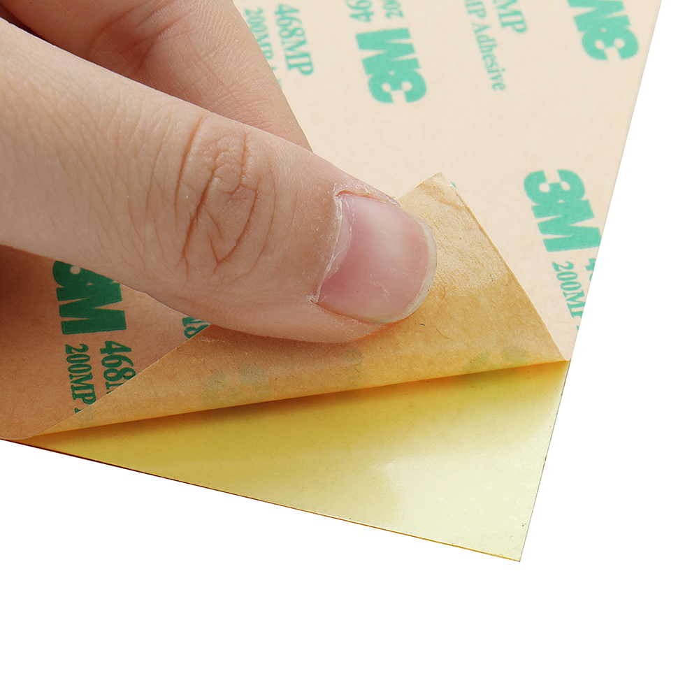 150*150*0.3mm Polyetherimide PEI Sheet With 3M Glue For 3D Printer