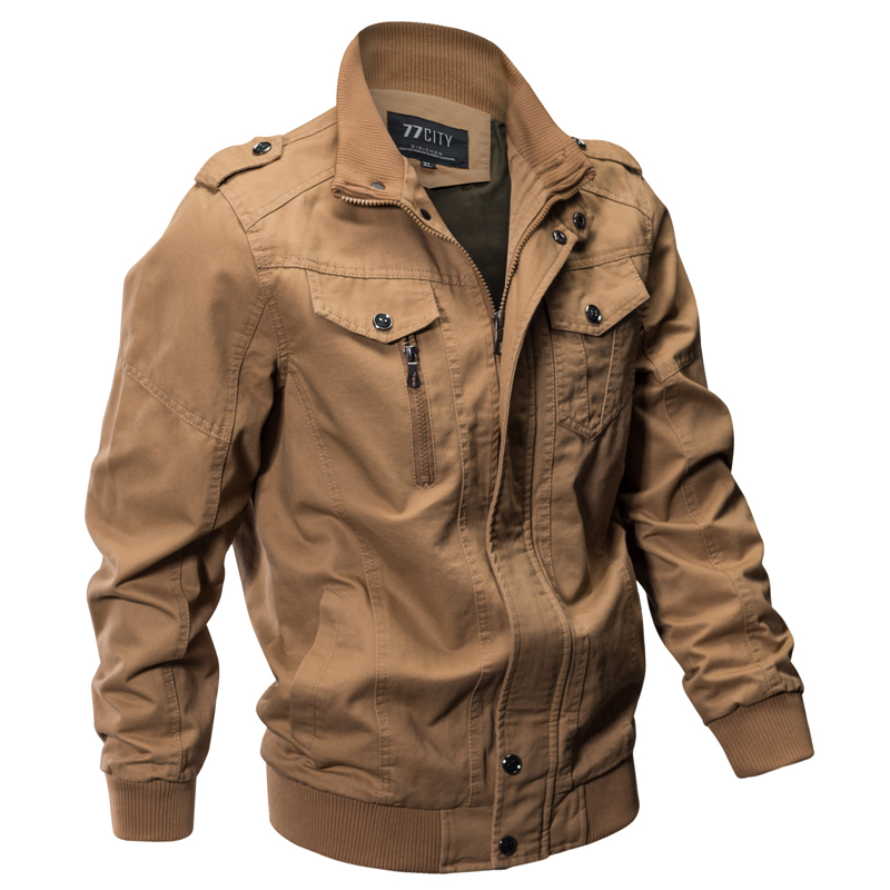 Epualet Tactical Military Cotton XS-4XL Casual Work Jackets