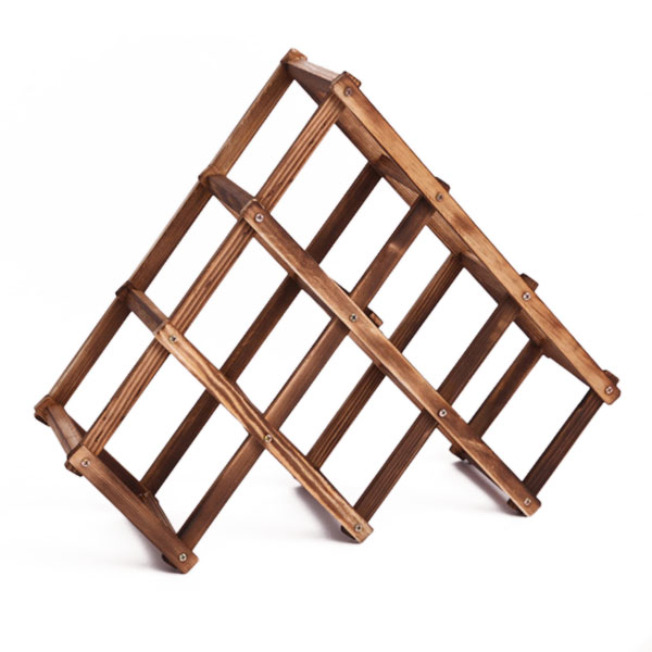 Wooden Red Wine Holder Rack 6 Bottle Wine Rack Mount Kitchen Glass Bottle Drinks Holder Storage Organizer Holders