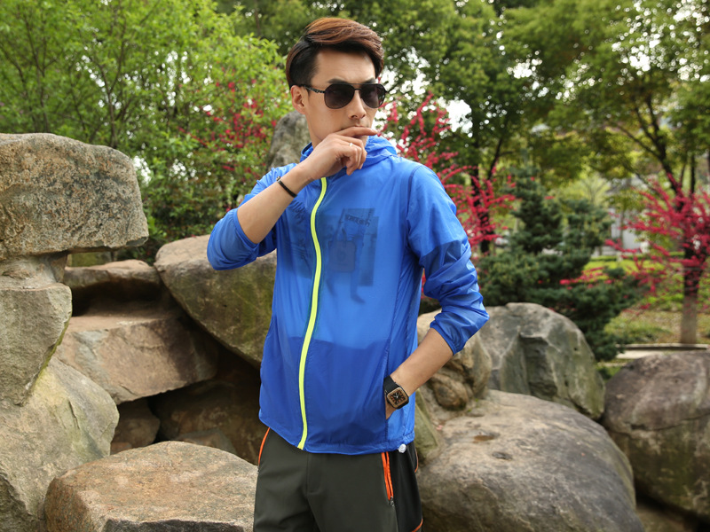 Outdoor Movement Jacket Skin Windbreaker Speed Drying Sun Protection Camping Hiking Clothing
