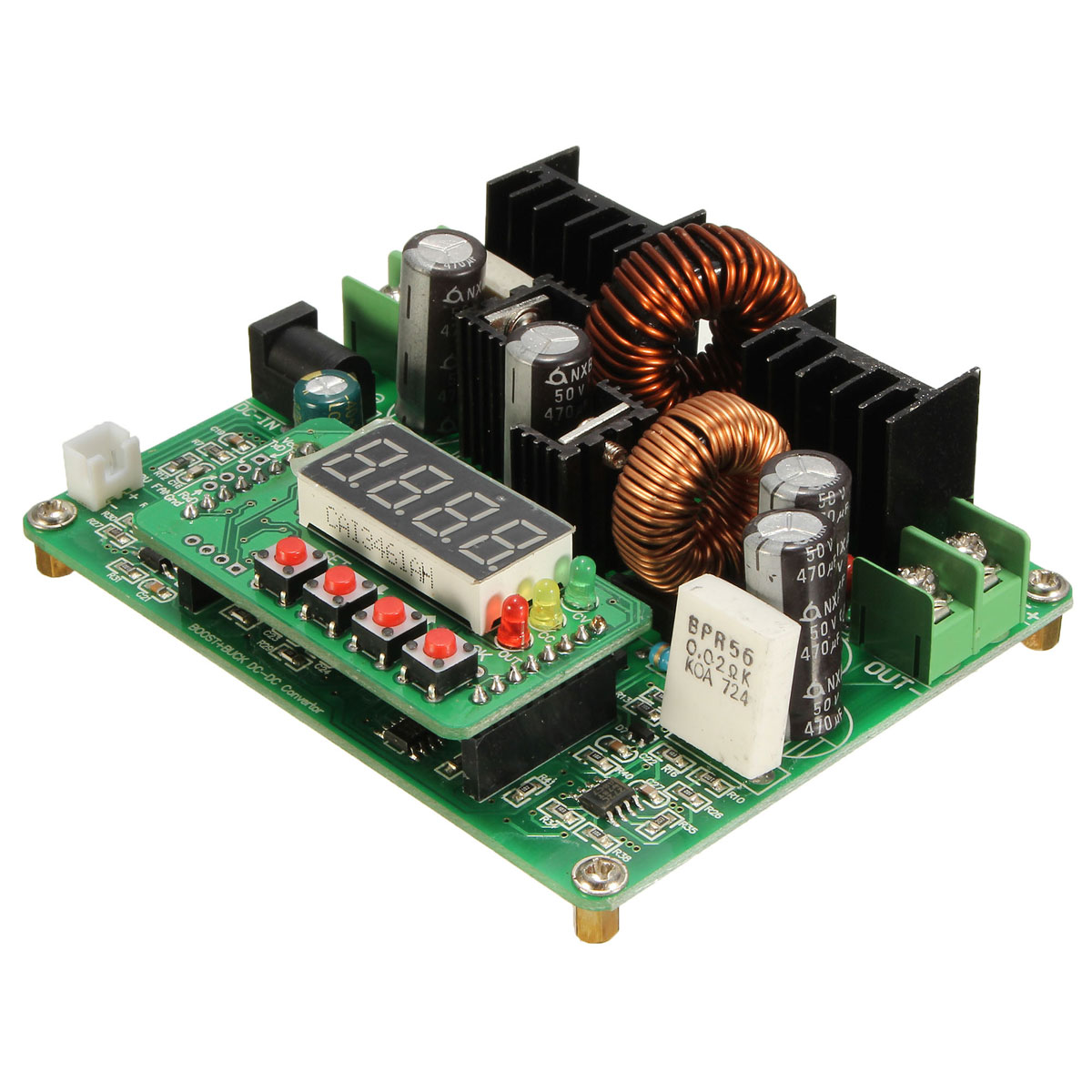 Dc For Sale Ioffer 5a Adjustable Step Down Xl4005 38v Digital Up Module Boost Buck C