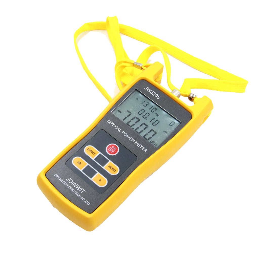 JW3208A Portable -70~+6dBm Fiber Optic Tester Optical Power Meter