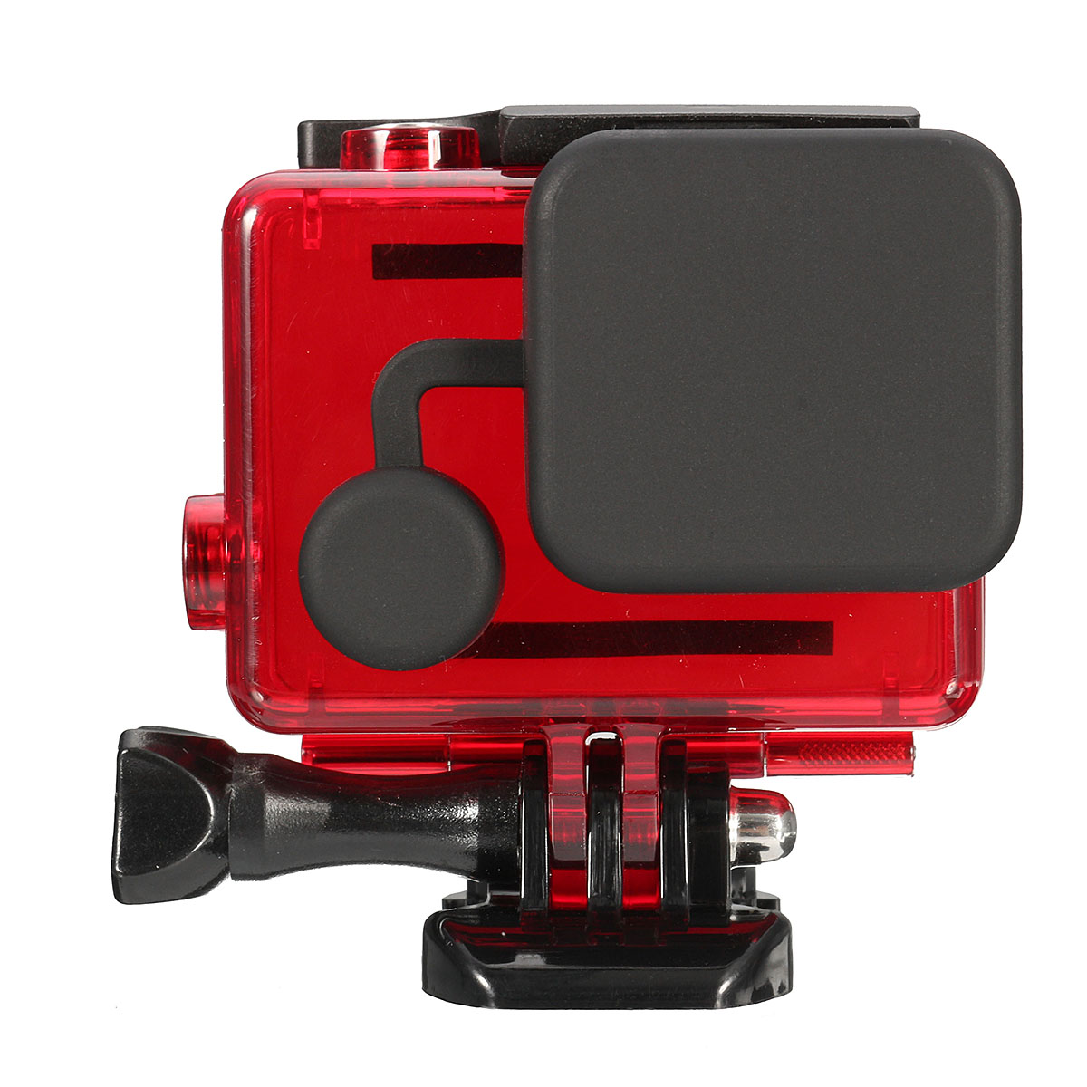 Waterproof Housing Protective Underwater Diving Case Shell with Lens Cap for GoPro Hero 3 3+4