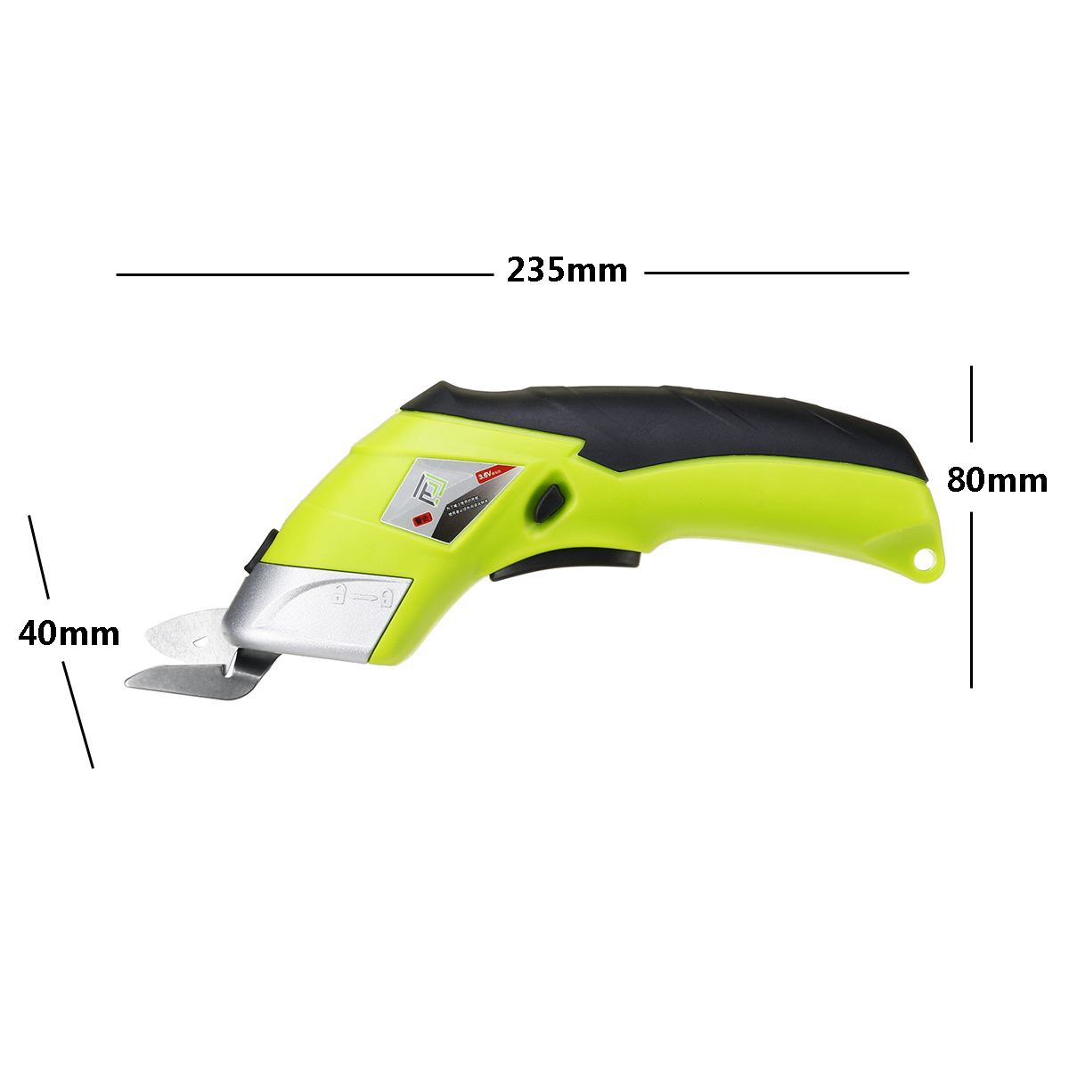 Multipurpose 110V-220V Electric Scissors Cordless Chargeable Fabric Sewing Scissors Handheld