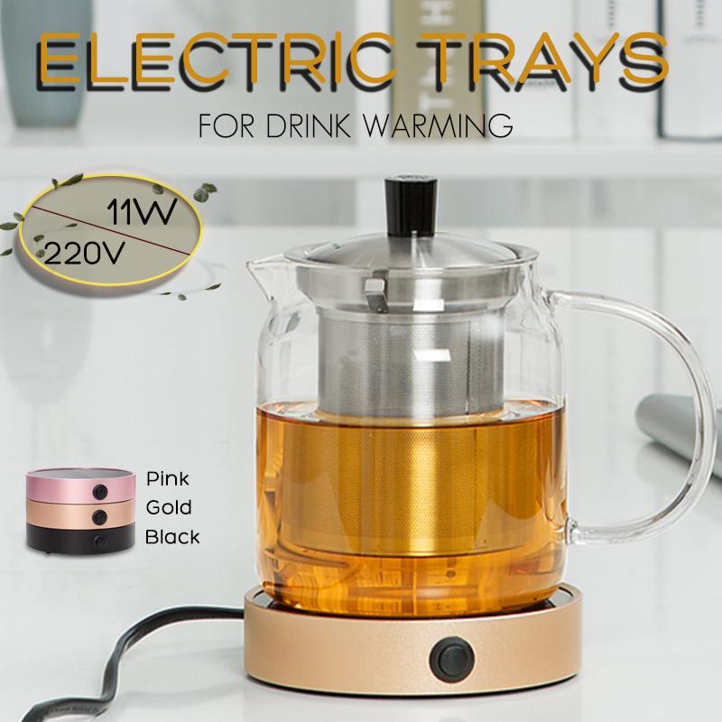 Portable Electric Desktop Coffee Warmer Tea Heater Cup Mug Pad Warming Tray Cup Warmer Pad