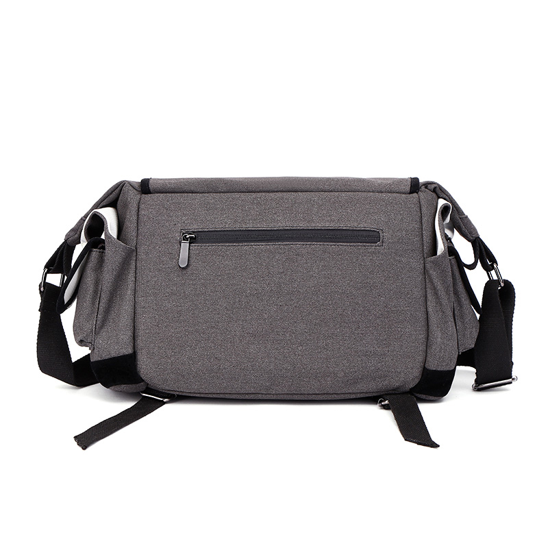 HUWANG 7418 Universal Waterproof DSLR Camera Bag Shoulder Case Canvas for Nikon for Canon for Sony