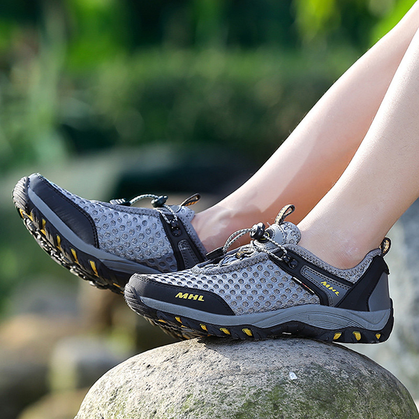 Breathable Mesh Outdoor Hiking Sneakers