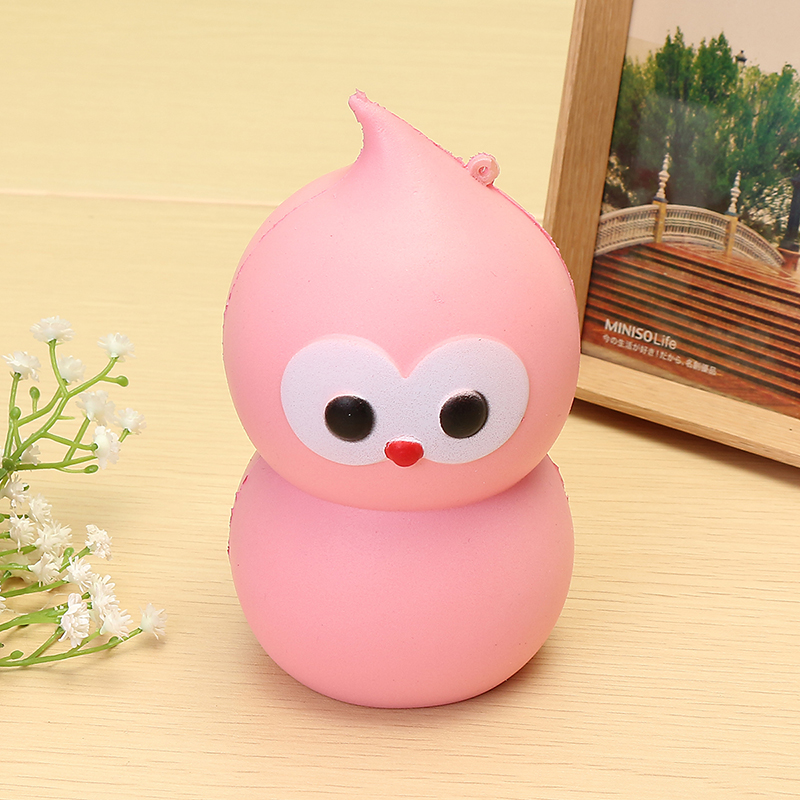 Squishy Calabash Man Jumbo 13cm Slow Rising Soft Squeeze Collection Gift Decor Toy