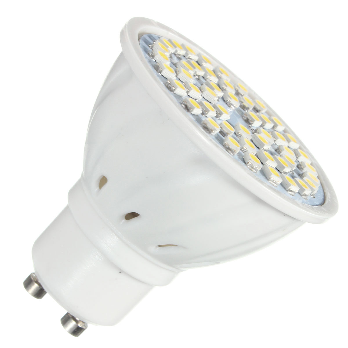 ZX E27 E14 GU10 MR16 LED 4W 48 SMD 3528 LED Pure White Warm White Spot Lightt Lamp Bulb AC110V AC220V