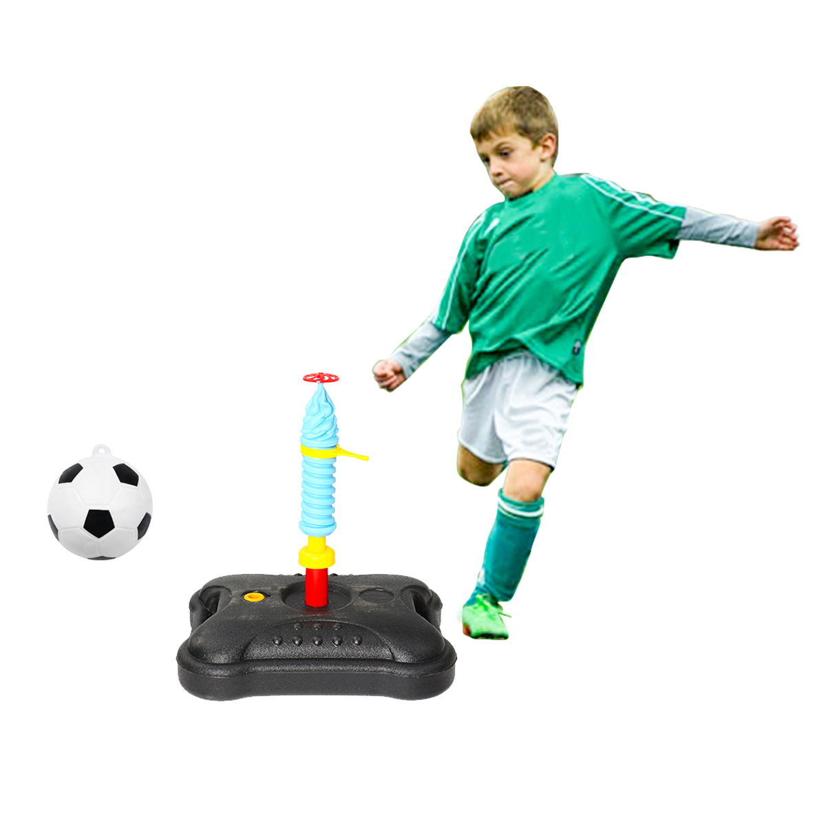 Portable Tetherball Toys Kids Ball Game Children Outdoor Sport Play Fun Ball Set
