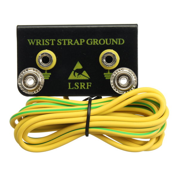 ESD Grounding Kit Anti-static Wrist Strap Belt Ground Connector with Cord