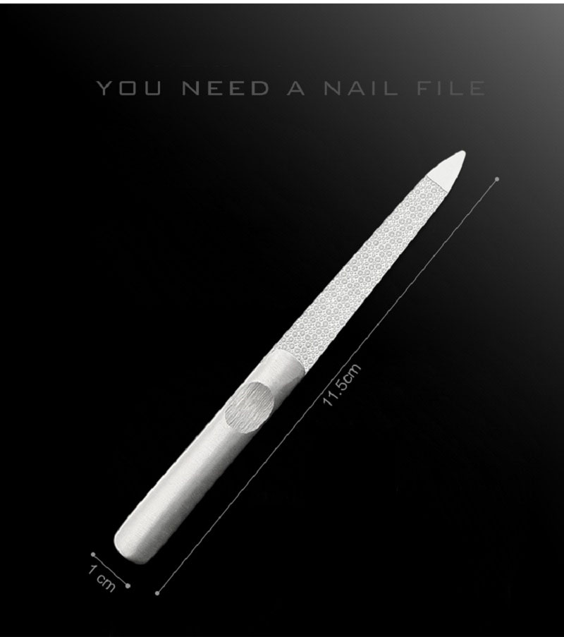 Y.F.M® Stainless Steel Nail Clippers & Nail Files