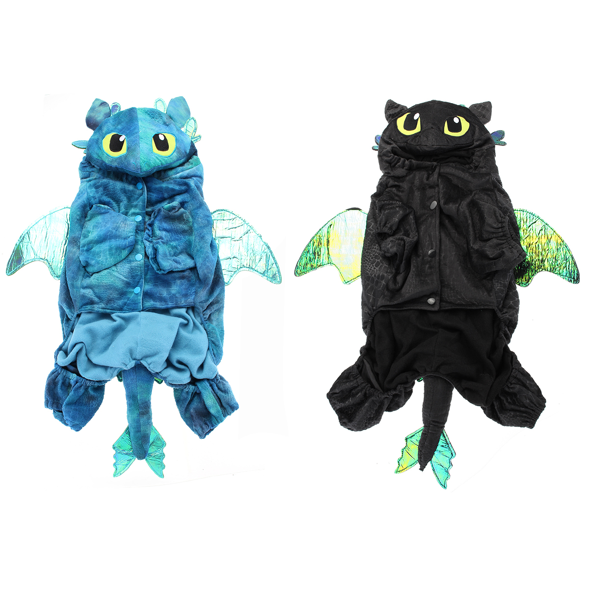 Halloween Party Pet Dog Cat Costumes Fly Dragon Cosplay Clothes Outfit 4 Size