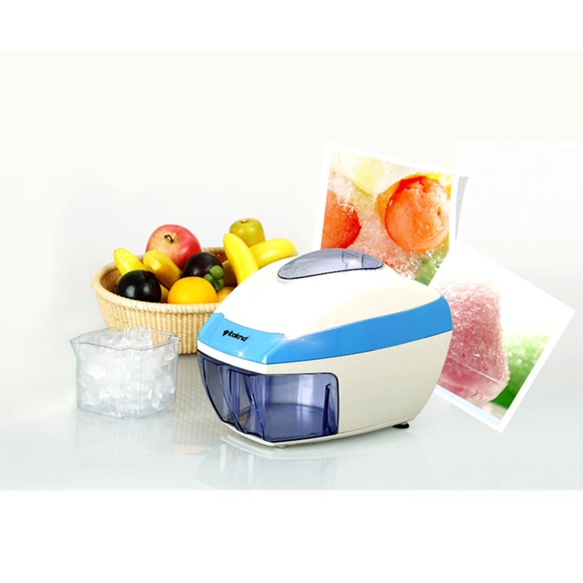 Electric Ice Shaver Slicer Crusher Ice Crasher Cube Flake Shaved Snow Home automatic Power Machine
