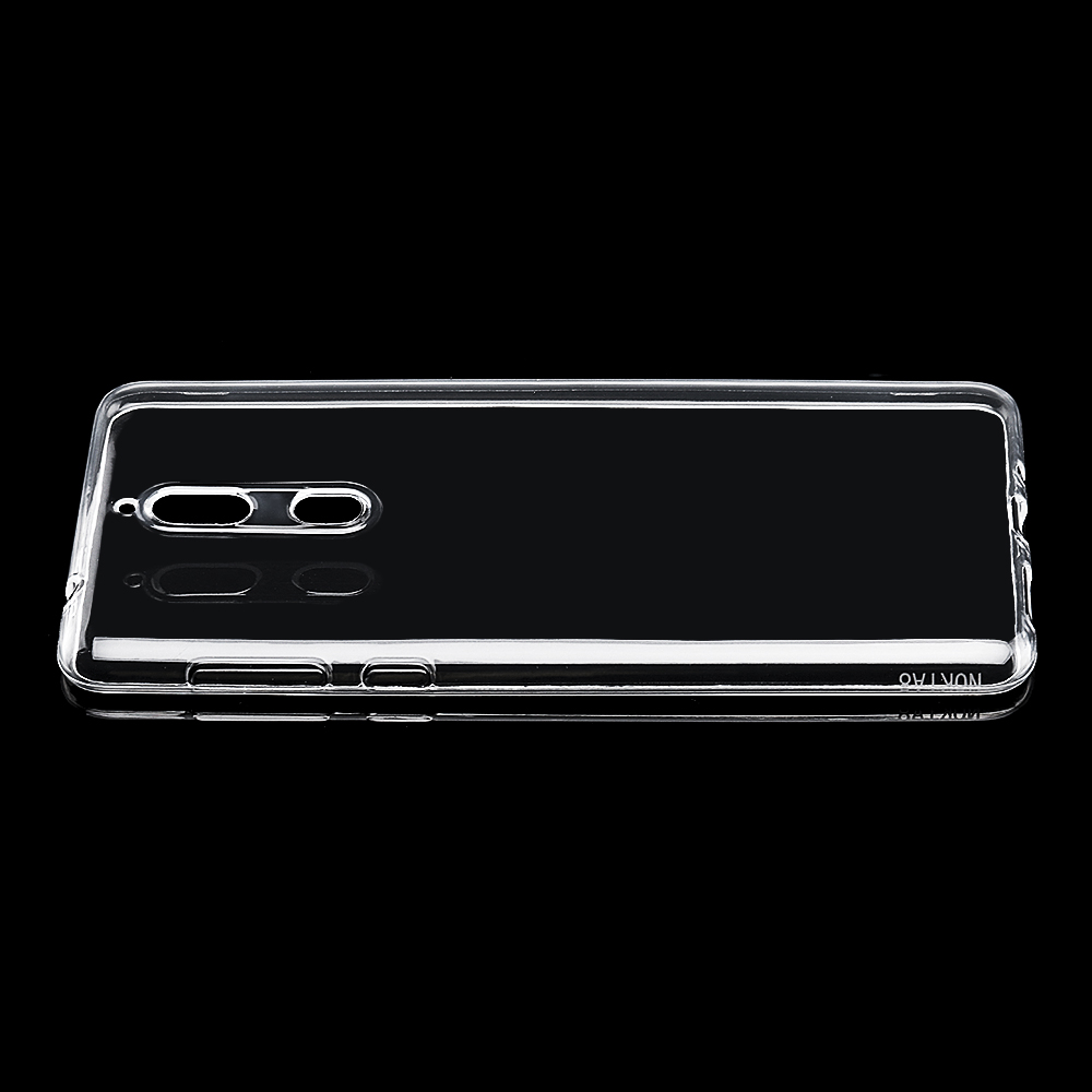 Bakeey Transparent Ultra Thin Soft TPU Back Cover Protective Case for Nokia 8