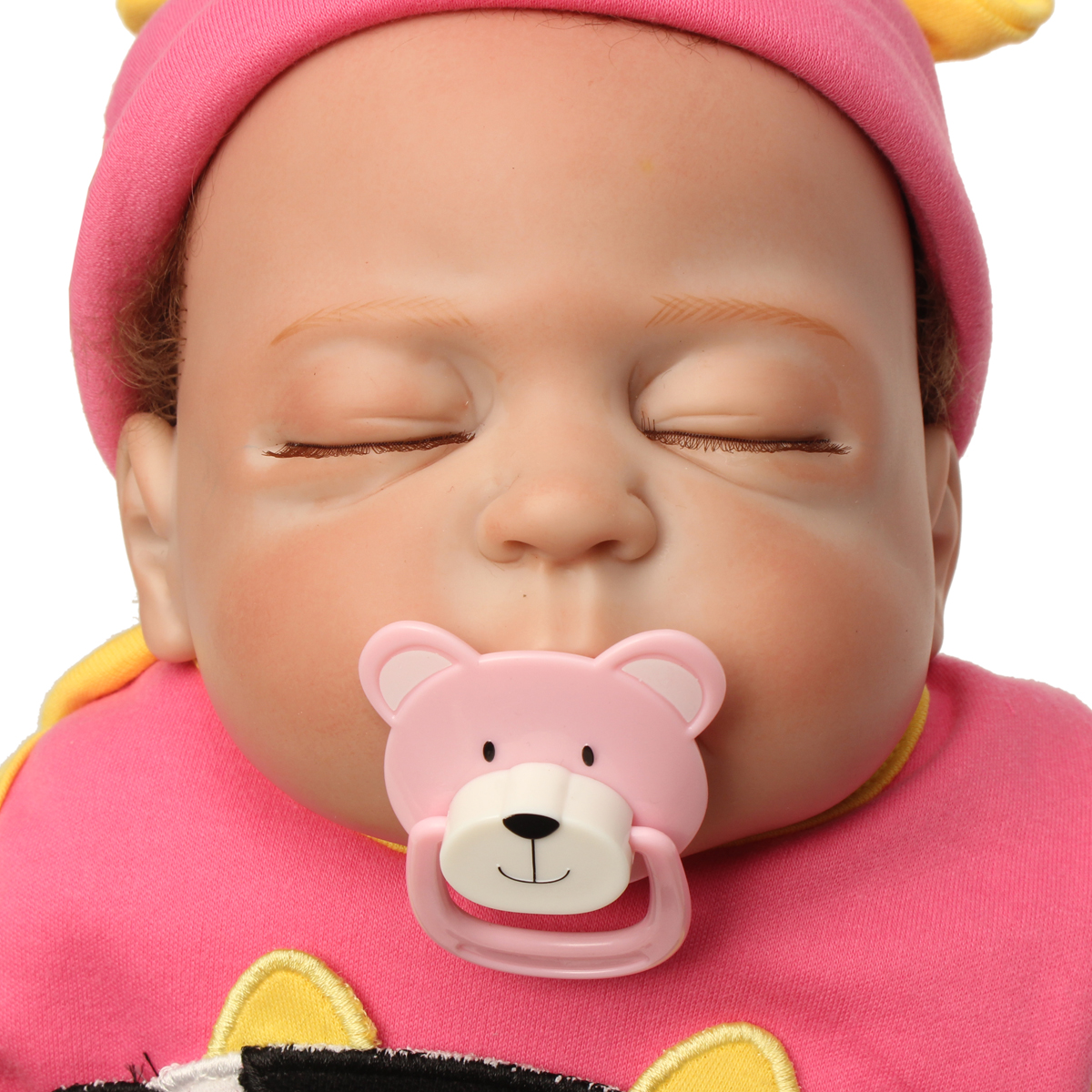 NPK 23 Inch 58cm Reborn Baby Soft Silicone Doll Sleeping Baby Handmade Lifelike Baby Girl Dolls Play House Toys Birthday Gift