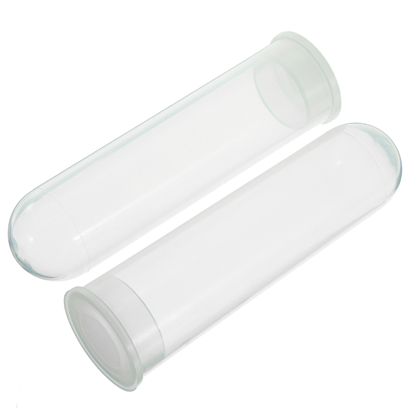 10Pcs/Lot 50ML Micro Centrifuge Tube Test Vial Clear Plastic Container Labware With Cap For Laboratory