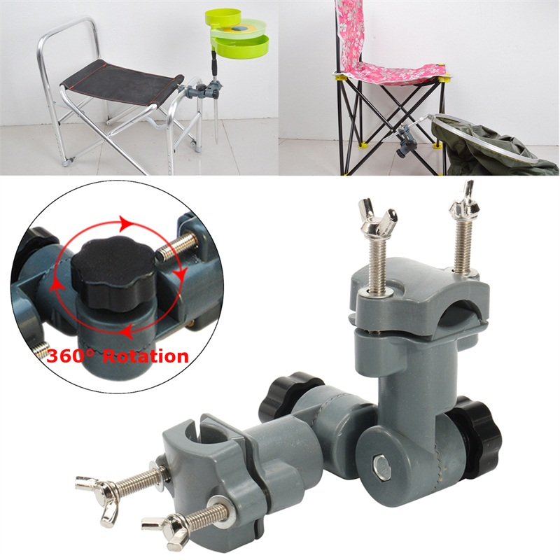 Fishing Rod Holder Chair Stand Bracket Lures Dish/Flashlight Holder Fishing Tool
