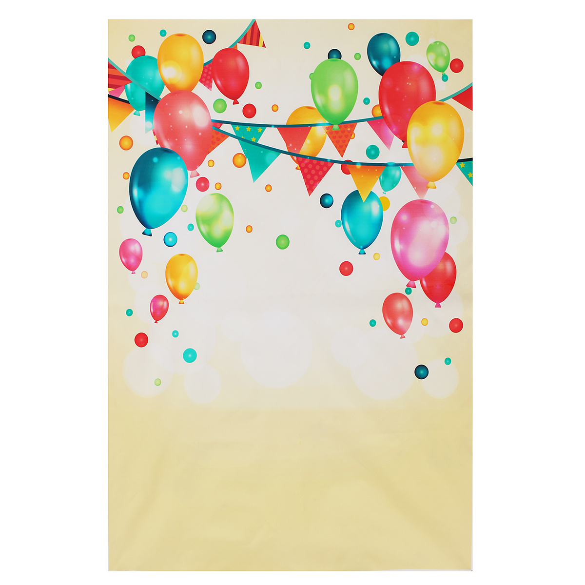 Colorful Balloon Kids Party Celebration Photography Backdrop Wall Art Hanging Photo Background