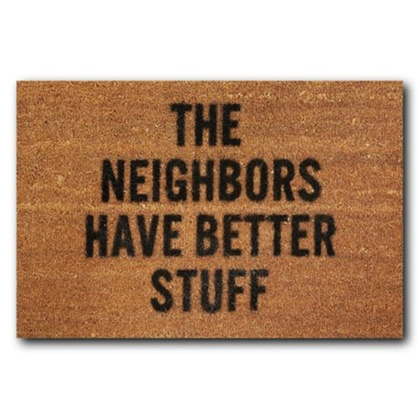Funny Hilariously Welcome Doormat Indoor Outdoor Rubber