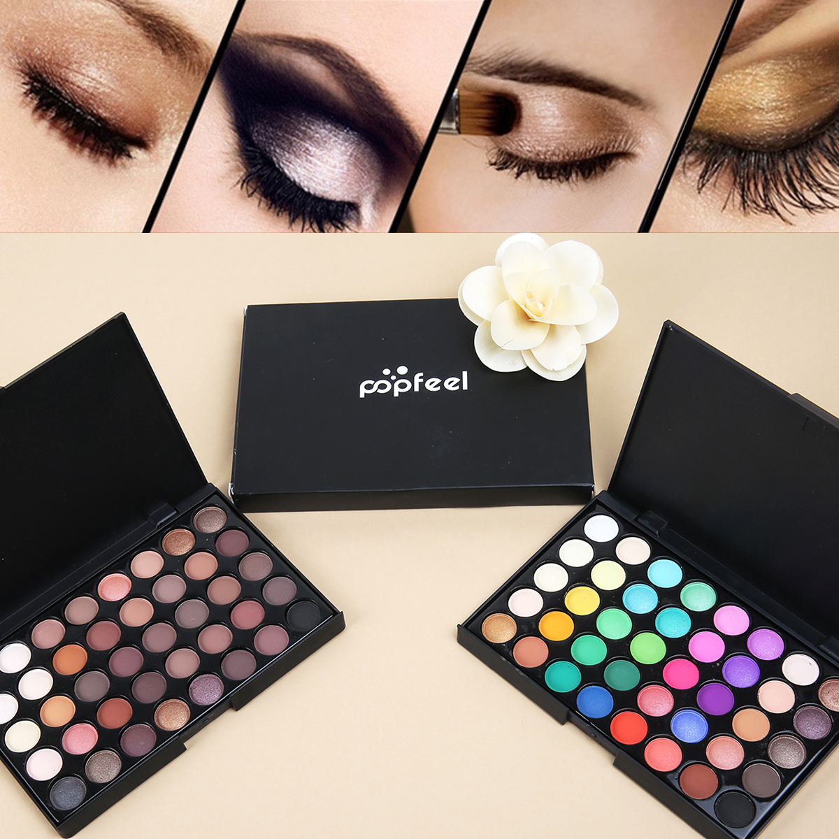 Banggood 40 Colors Mini Eyeshadow Palette