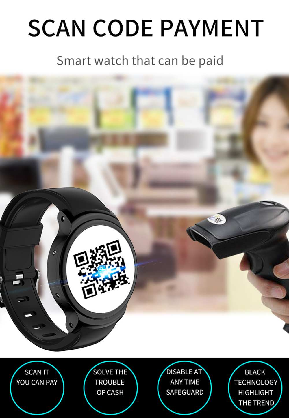Bakeey I3 1.54inch Automatic Induction Screen MTK6580 3G SIM Card GPS HR Monitor HD Camera Android Smart Watch