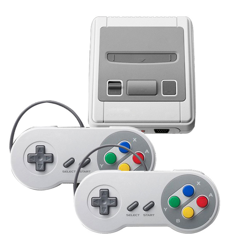 Classic Dual Player Double Gamepad Game Console Built-in 621 Games 1080P HD Out