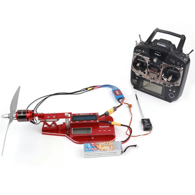 Mayatech MT10PRO Current Meter 10KG Tension Motor Thrust Tester Propeller Power Measurement LCD Display For RC Model Racing Drone