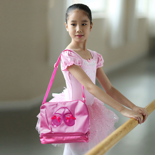 Embroidery Printed Sequined Outdoor Sports Package Dance Girls Ballet Bag