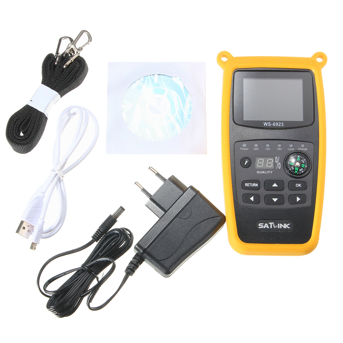 Satlink Ws 6923 Dvb S Fta Cku Band Digital Satellite Finder Meter Electric Scooter Razor Wiring Diagram 12v Receiver