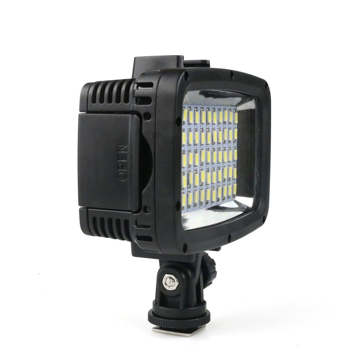40m Diving 60 LED Waterproof Camera Video Night Light Camcorder Lamp 1800LM
