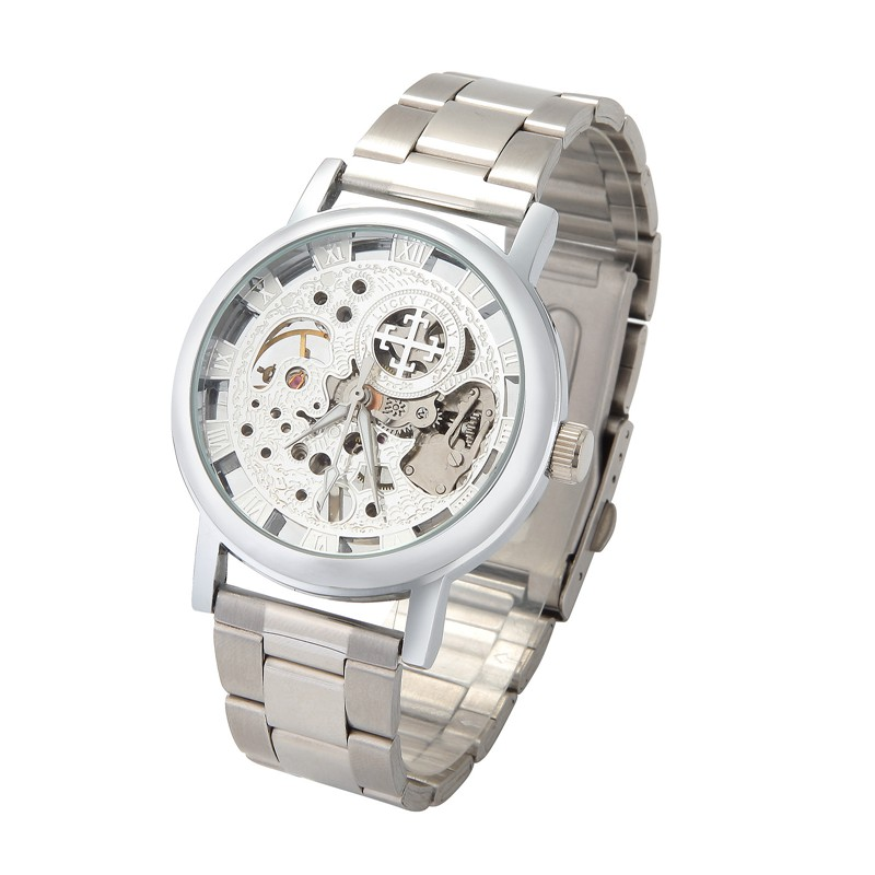LUCKYFAMILY G8099 Mechanical Watch Self-winding Luxury Hollow Business Men Watch