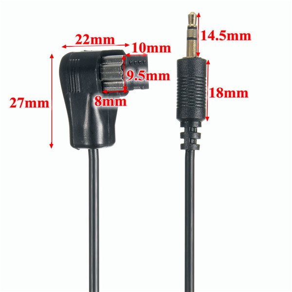 3.5mm AUX Input Cable to Car Pioneer Stereo Head Unit IP-BUS Input Adapter