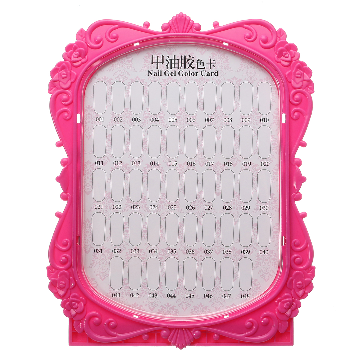 Dancingnail Nails Color Display Frame Manicure Salon Tools Showing Shelf