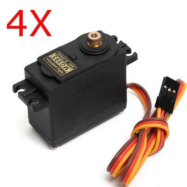 4X MG995 High Torque Metal Gear Analog Servo