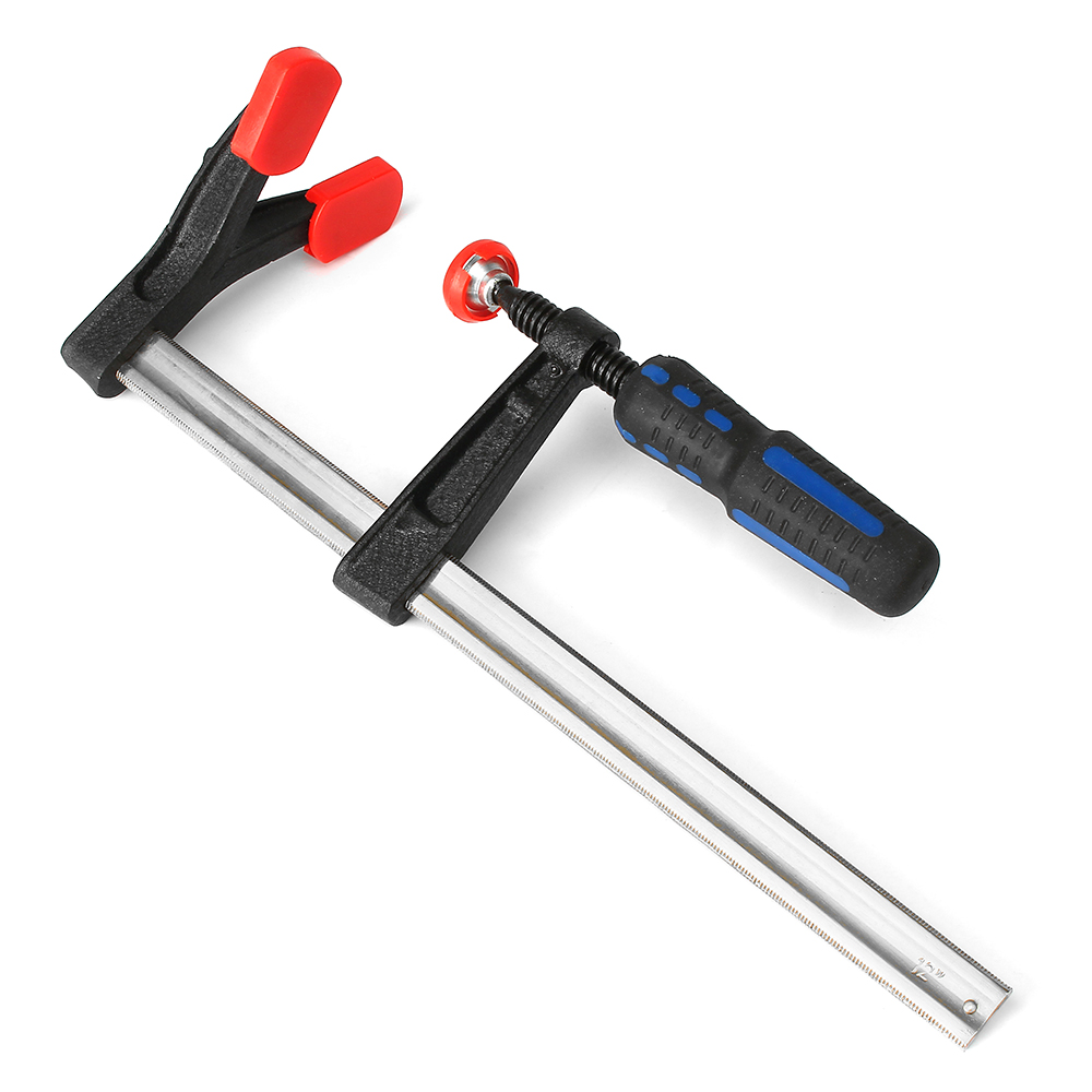 Heavy duty adjustable F-clip