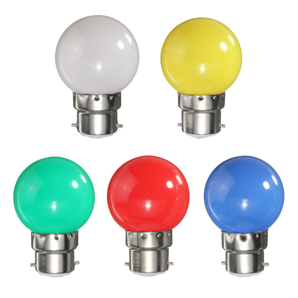3W B22 Colorful Party 3 LED 2835 SMD Light Energy-saving Lamps Durable Bulbs AC 220V