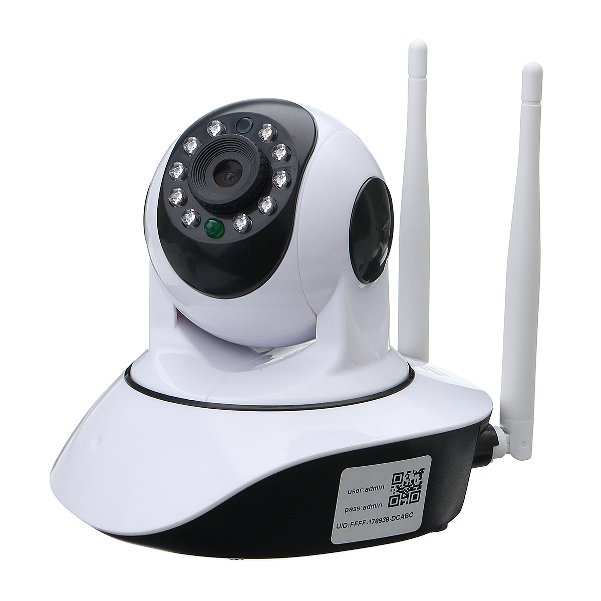 720P Wireless IP Camera Security Network CCTV Camera Pan Tilt Night Vision WIFI Webcam