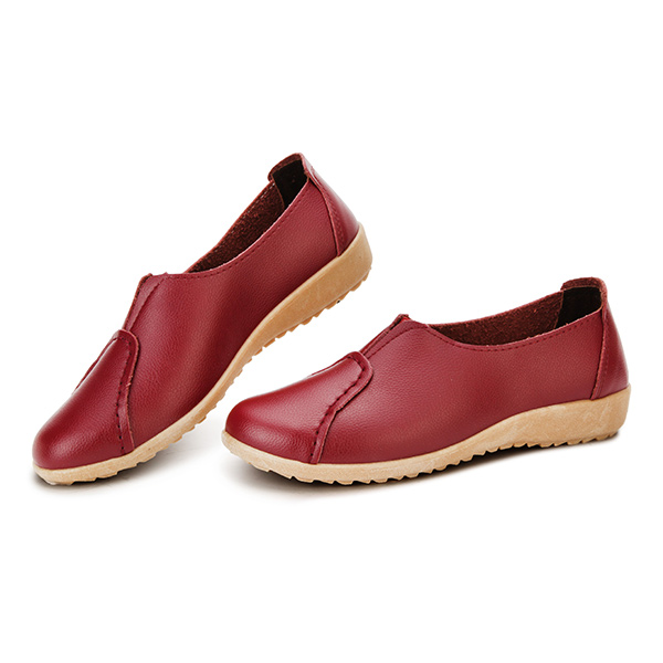 Women Flats Shoes Comfortable Casual Slip On Soft Low Top Flat Loafers Shoes