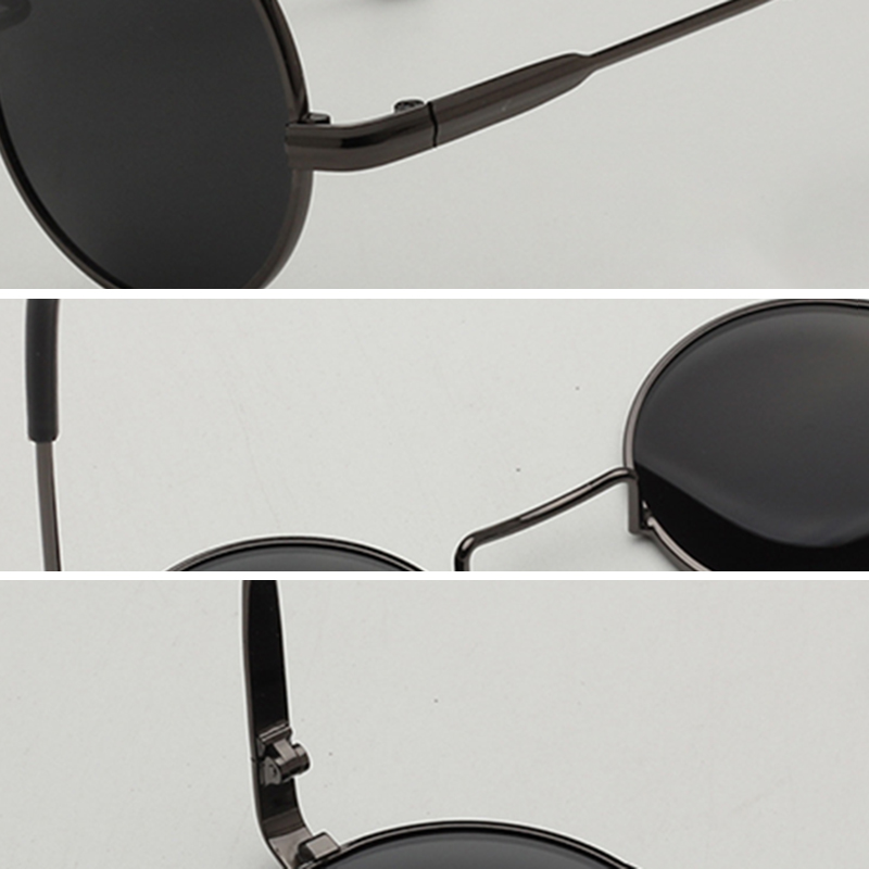 Men Wonmen Metal Light Casual Sunglasses