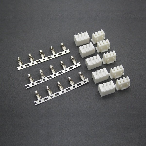 5xPairs 2S 3S 4S 3~4Pin JST XH Male and Female Balancer Charger Connectors