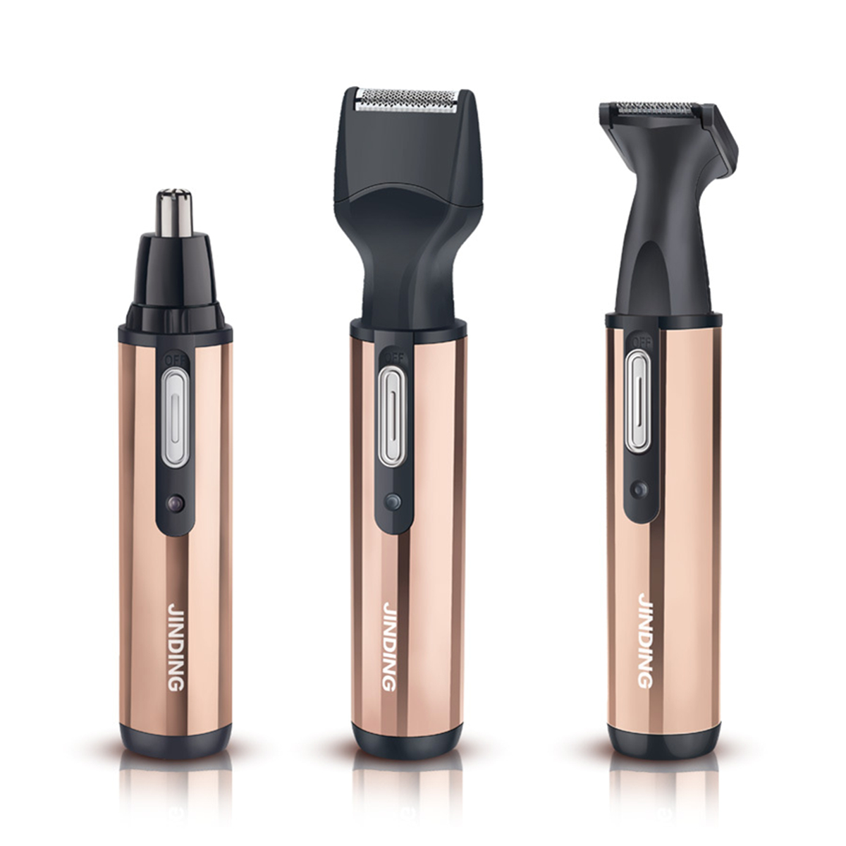 3 In 1 Rechargeable Personal Ear Nose Brow Hair Remove Trimmer Shaver Kits Set