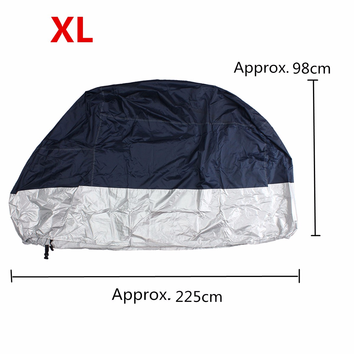 M/L/XL/XXL Motorcycle Waterproof Outdoor Rain Bike Cover