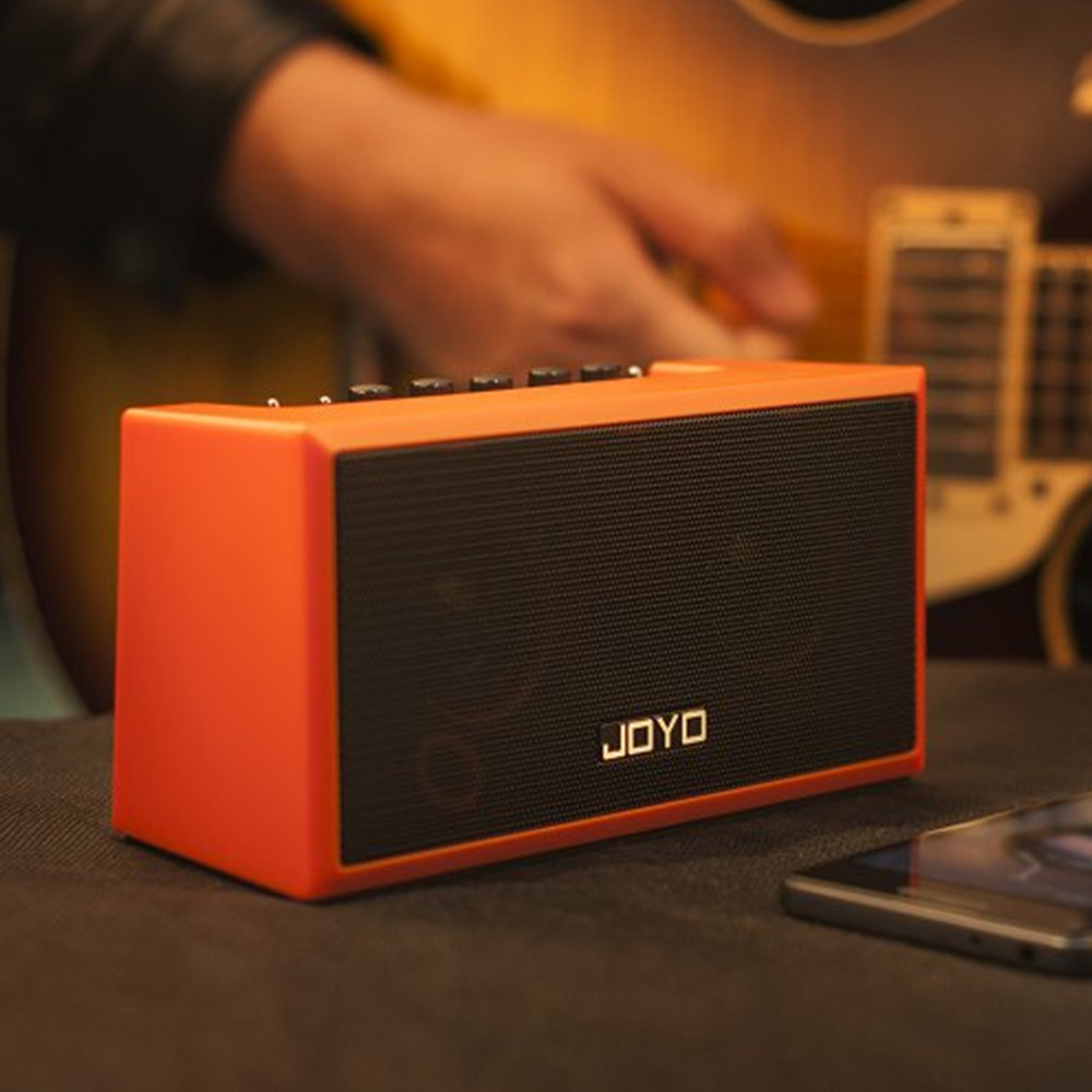 JOYO TOP-GT Portable Guitar Amplifier Mini Bluetooth Amp Speaker for Acoustic Electric Guitar Bass