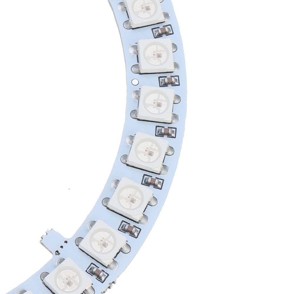 WS2812B 35 Bits 5050 RGB DIY LED Module Strip Ring Light with Integrated Drivers Board DC5V